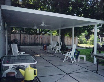 3-Fan Patio Cover