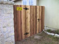 1 x 4 x 6' Cedar Fencing
