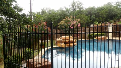 5' tall Ornamental Iron Fencing