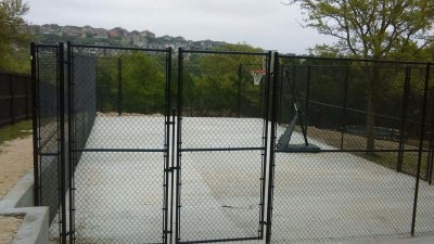 10' Tall Chain Link Fencing