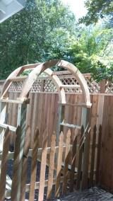 Cedar Gate Arbor Fencing