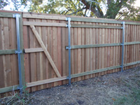 Cap and Trim Fencing