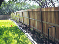 Cedar privacy / 3-Rail Fencing