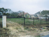 Ornamental Iron Fencing