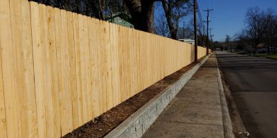 New 1x6x6' Privacy Fence