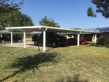 24' x 46' Freestanding Car Port