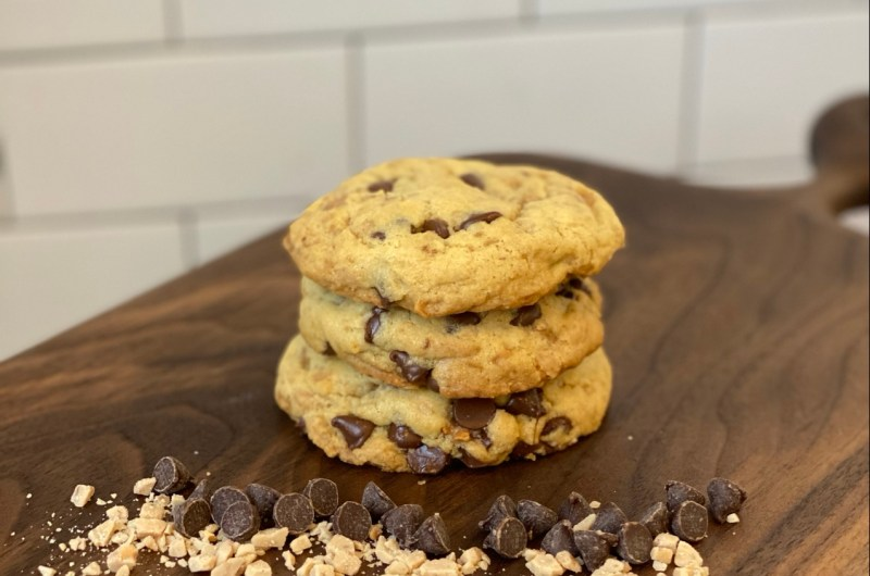 Chocolate Chip & Toffee Cookies