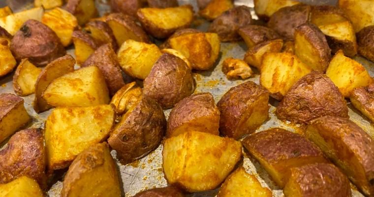 Crispy Taco Seasoned Potatoes