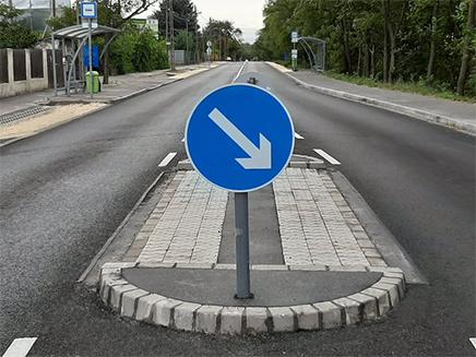 Elkezdődött a Bélatelepi út és a Csévéző utca műszaki átadás-átvétele