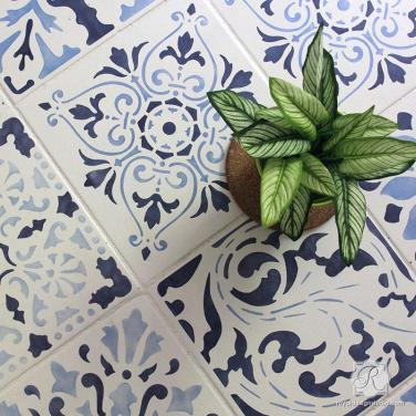 kitchen_floor_tile_stencils_diy_project_decorating_idea