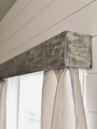 How to make Wood Valances over a window