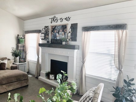 One Room Challenge Reveal Living Room