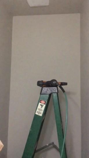 Bathroom Laminate Wall Installation
