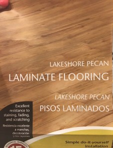 Laminate Flooring from Home Depot