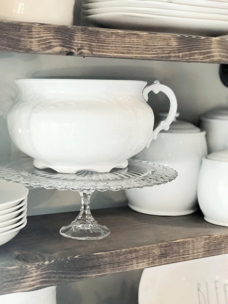 DIY Cake Plate Tutorial
