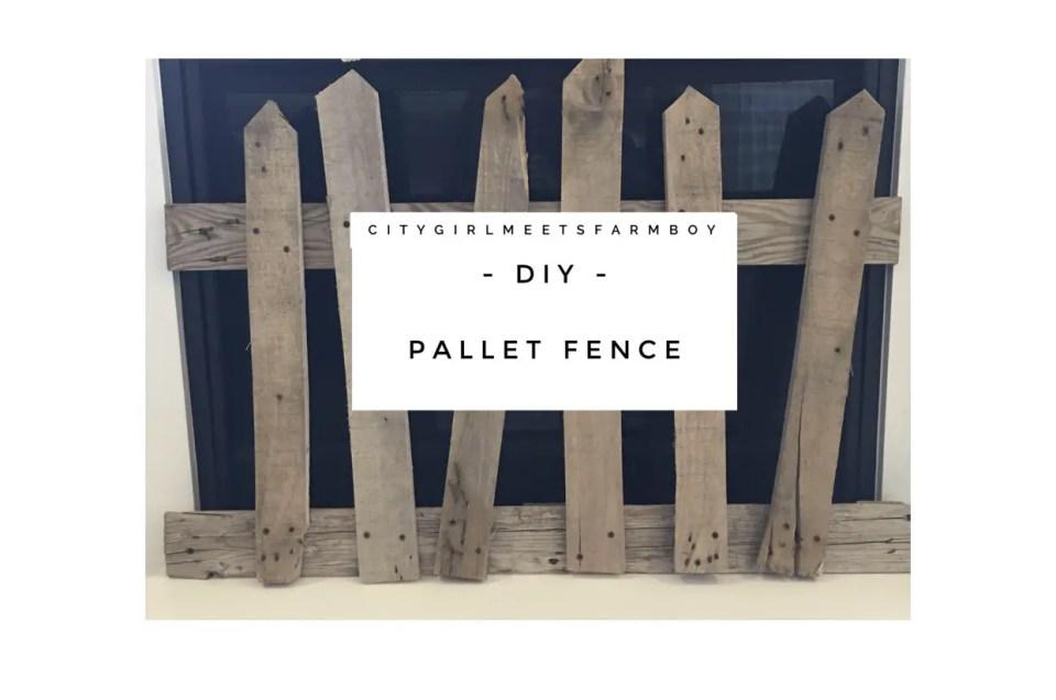 Pallet Fence Tutorial