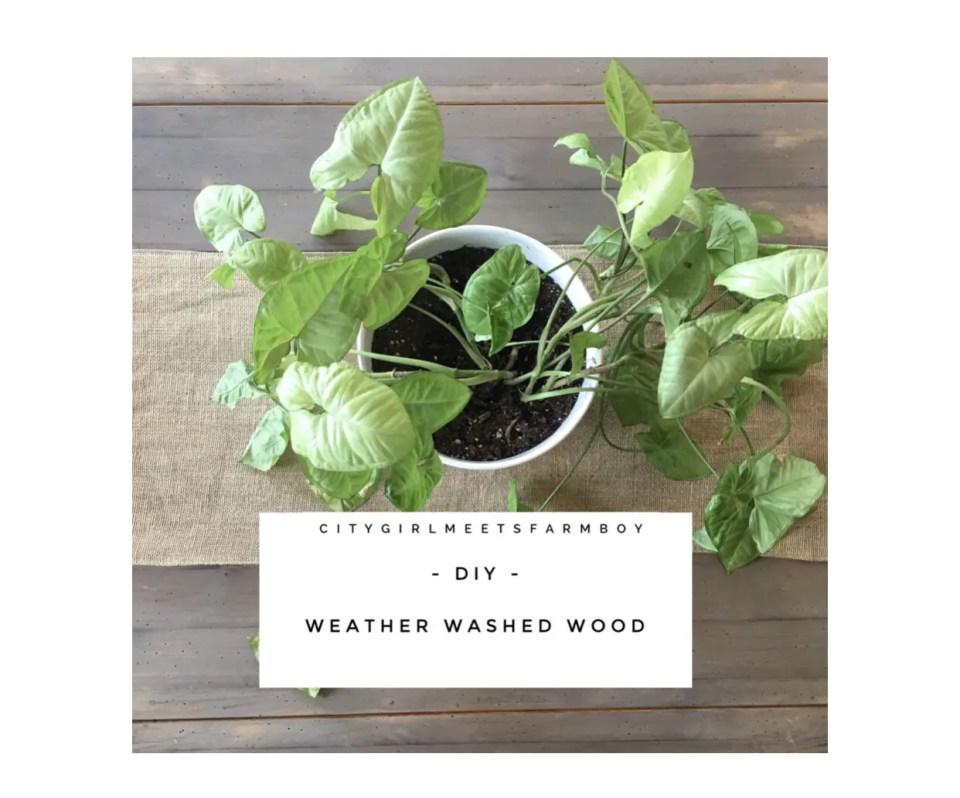 Aging Wood Tutorial