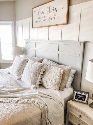 Master Bedroom Spring Refresh with new bedding