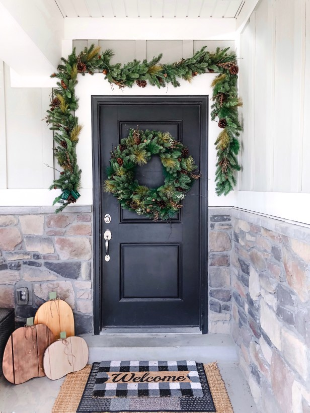 Christmas and Thanksgiving Front Door Decorations