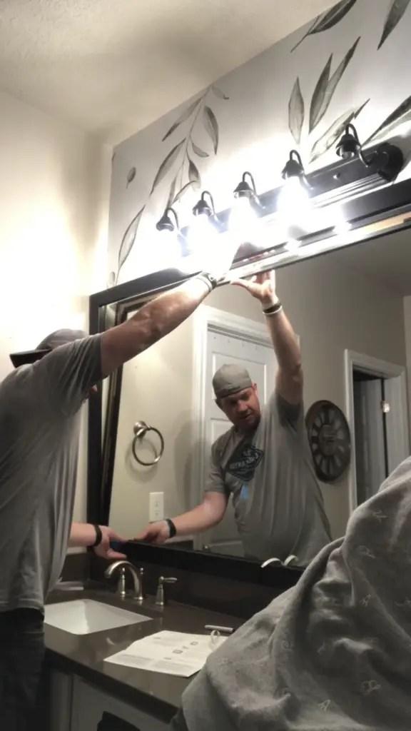Mirror Mate Vanity Frame