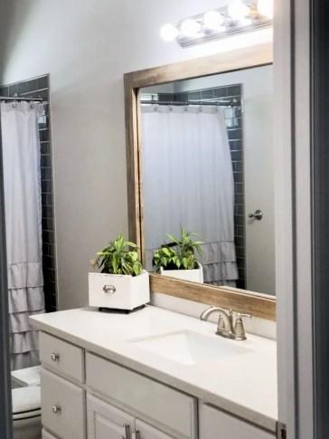 MirrorMate Cherokee Barnwood Frame