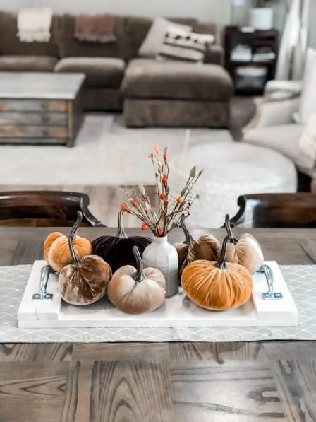 Fall Wood Tray