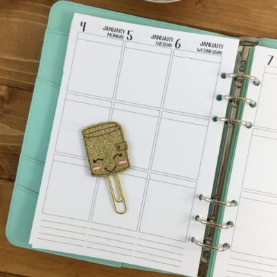 Vertical style A5 planners now available