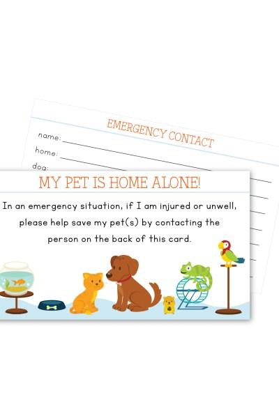 Pet In Case of Emergency
