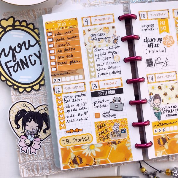 Metro Planner Personal Tall Week 2 pages grid refill