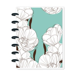 White on Teal Metro Planner
