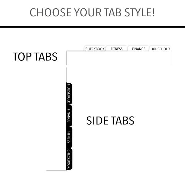 CityGirl Spiral Tab Style Choice