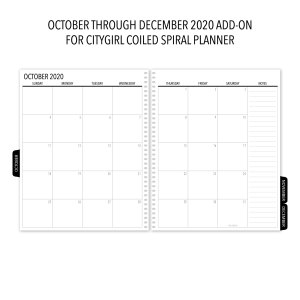 2020 Add-On for Spiral Planners
