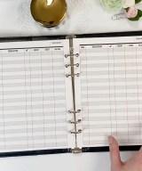 Checkbook Vertical style Flip