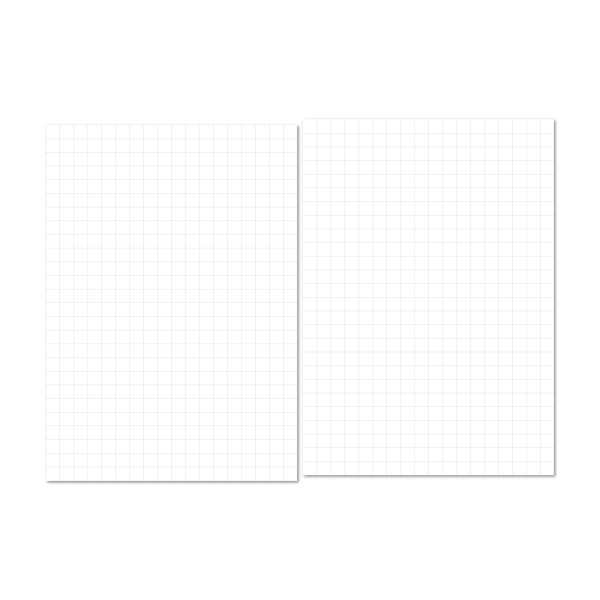 grid paper notes