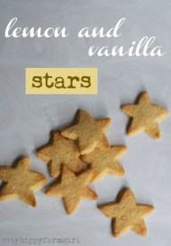 lemon-and-vanilla-stars-simple-recipe-cityhippyfarmgirl
