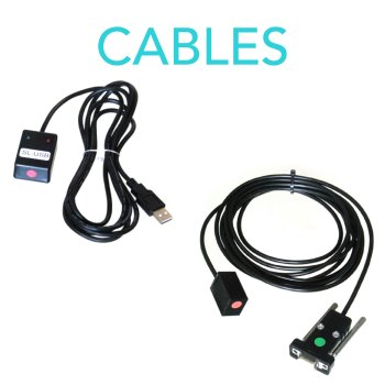 Cables for knitting machines