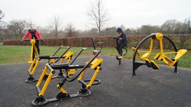 Admirals Park outdoor gym equipment