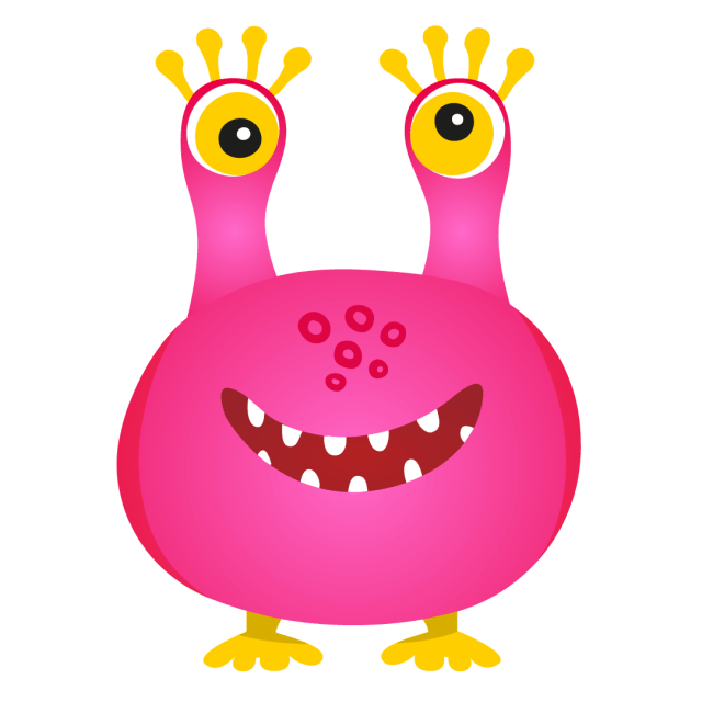An illustration of inflatable monster 'Goof'