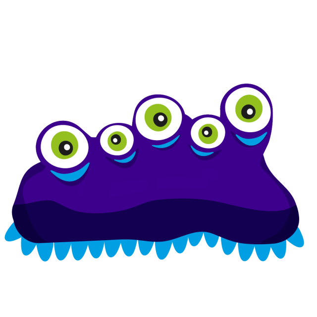 An illustration of inflatable monster 'Octoplasum'