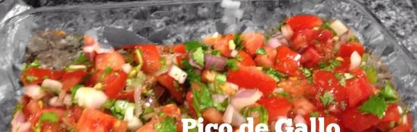 Pico de Gallo:  A #1 Recipe for #2 Tomatoes
