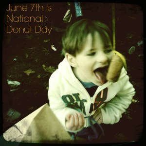 June 7th is National Donut day.  Will you celebrate with some fried, or baked, sugared dough?