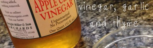 Apple Cider Vinaigrette (Recipe)