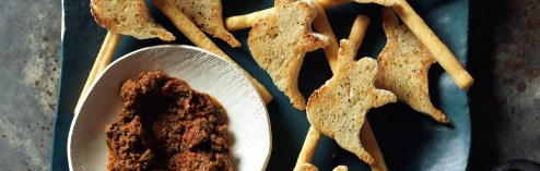 Not Just a Cookie Cutter Halloween Appetizer:  Food Network's Ghostini's