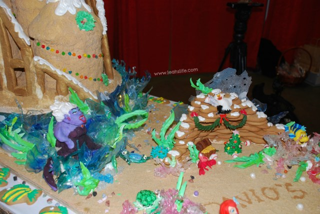 """Davio's got creative this year with a huge sandcastle, Little Mermaid characters, holiday wreaths, and a little nod to the Red Sox. The children campaigned hard to get me to choose this as most creative. I was deciding between two. Davio's won the title of """"Most Creative""""."""