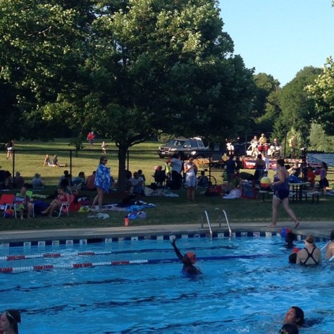 Pool memberships can be a great summer bargain. If the kids do swim team, it keeps them busy and is like camp.  There is often music, special events, picnics and barbeques keeping the family entertained all summer.
