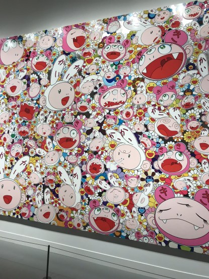 MFA special exhibit Takashi Murakami