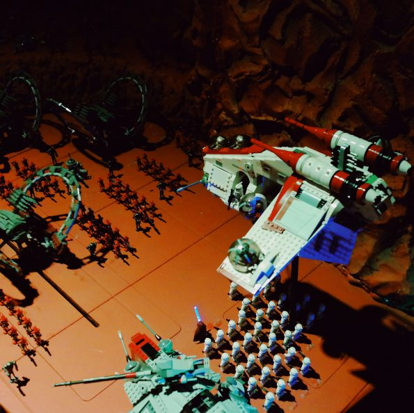 Lego Star Wars Miniland at Legoland Discovery Center in Boston