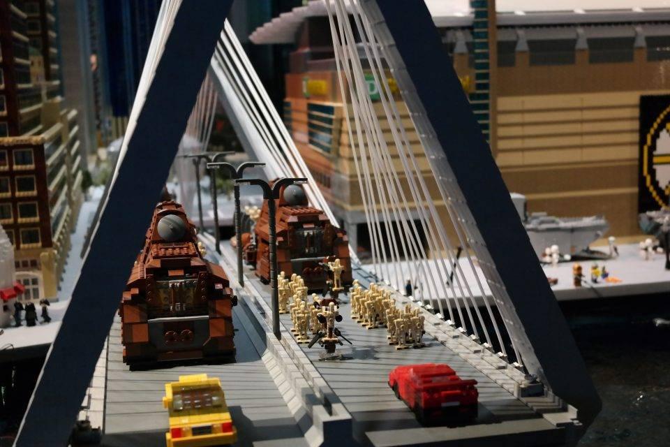 Lego Star Wars invades Boston