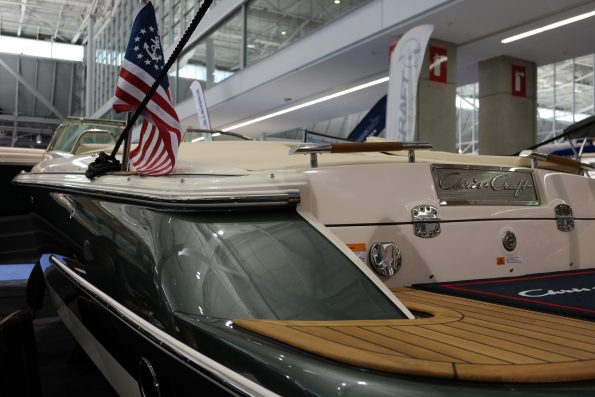 Chris Craft Boats at the New England Boat Show