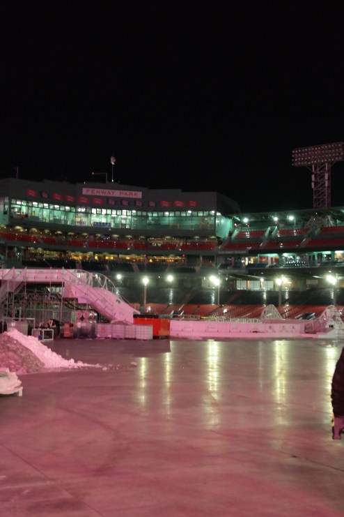 The Polar Opposite of Fyre is Ice: Red Bull Crashed Ice at Fenway